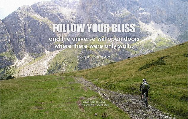 Follow Your Bliss through Open Doors