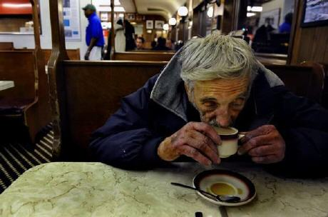The Italian tradition of caffe sospeso, 'suspended coffee'