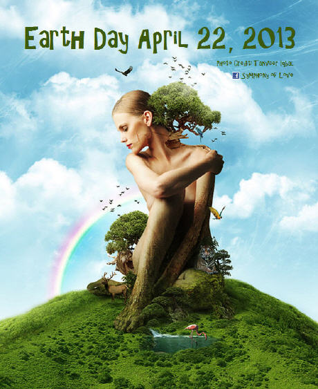 Earth day April 22, 2013