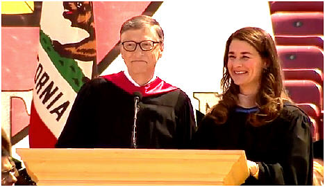 Bill and Melinda Gates 2014 Stanford Commencement Address