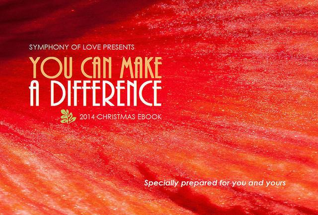 You can make a difference 2014 Christmas eBook