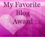 Favorite Blog Award