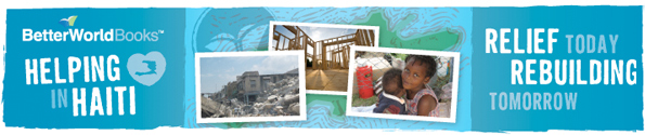 Rebuild Haiti Better World Book Drive