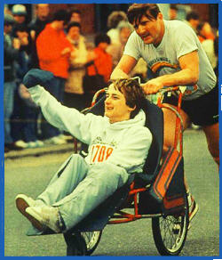 Team Hoyt, Strongest Father in the world